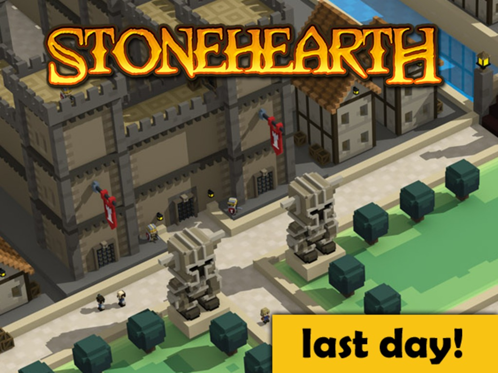 Stonehearth's video poster