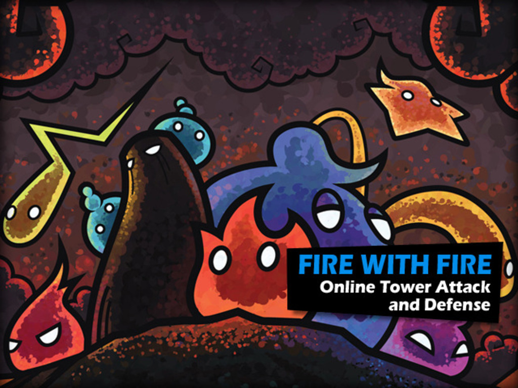 Fire with Fire Online Tower Attack and Defense's video poster