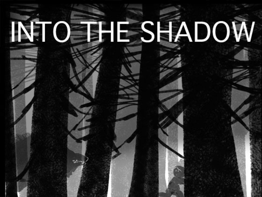 """""""Into the Shadow"""" mini graphic novel's video poster"""