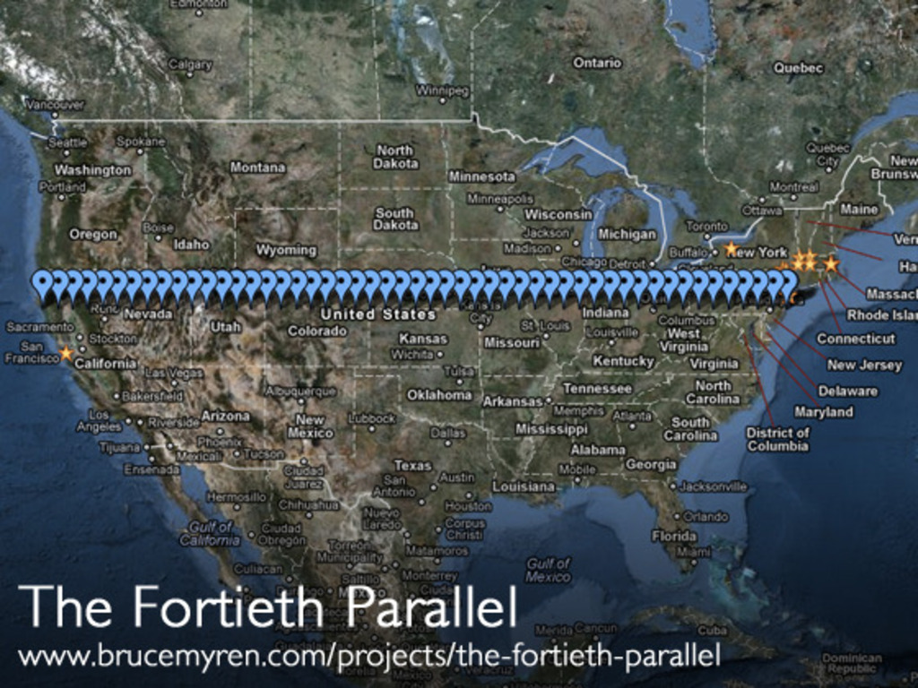 The Fortieth Parallel's video poster