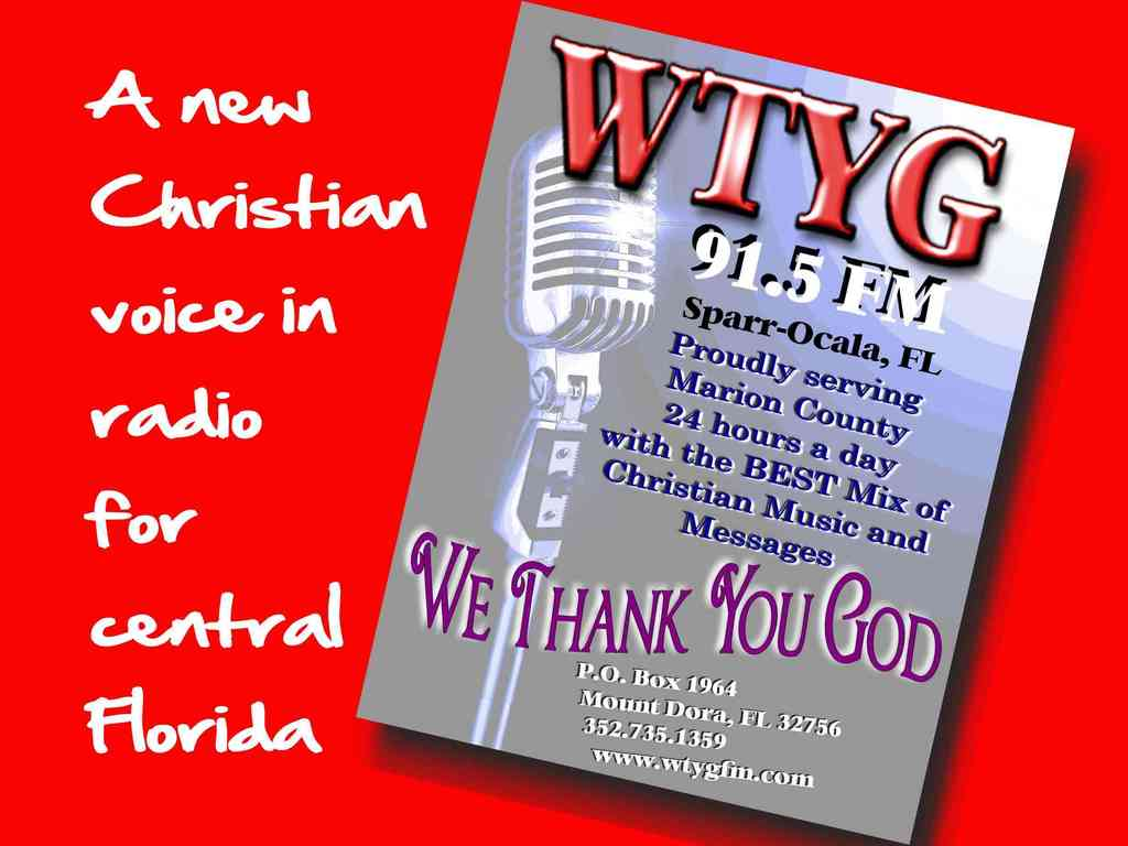 New Non-Profit Volunteer Christian Radio for Central Florida's video poster