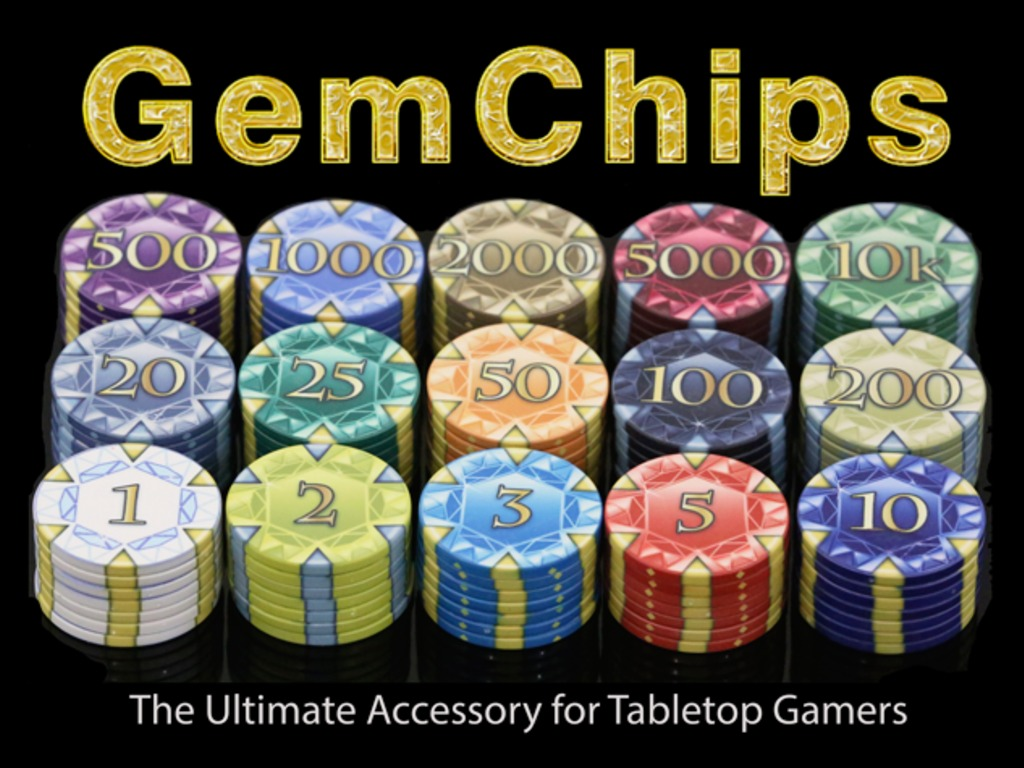 GemChips - the ultimate accessory for tabletop gamers's video poster