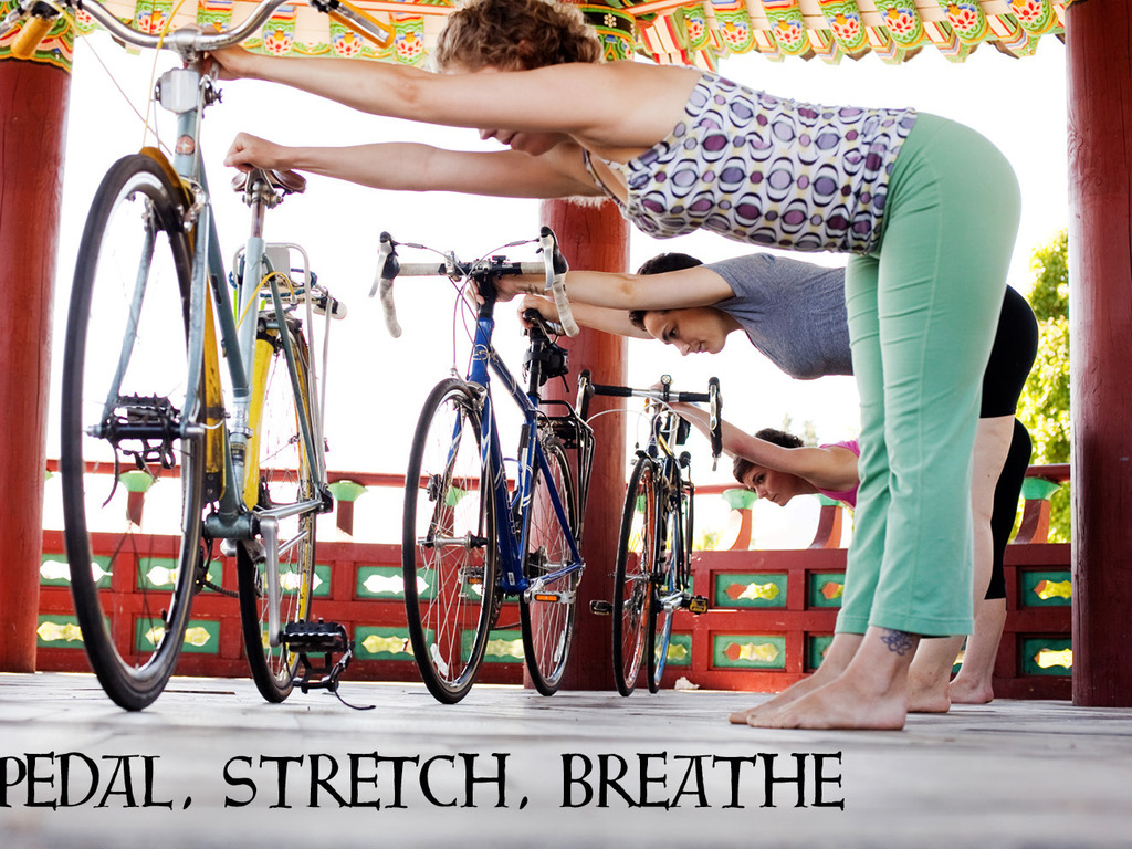 Pedal, Stretch, Breathe: The Yoga of Bicycling's video poster