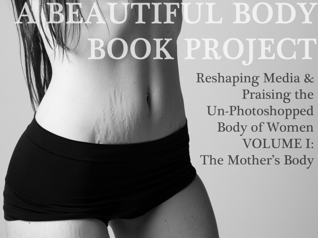 """""""A Beautiful Body"""" Book Project's video poster"""