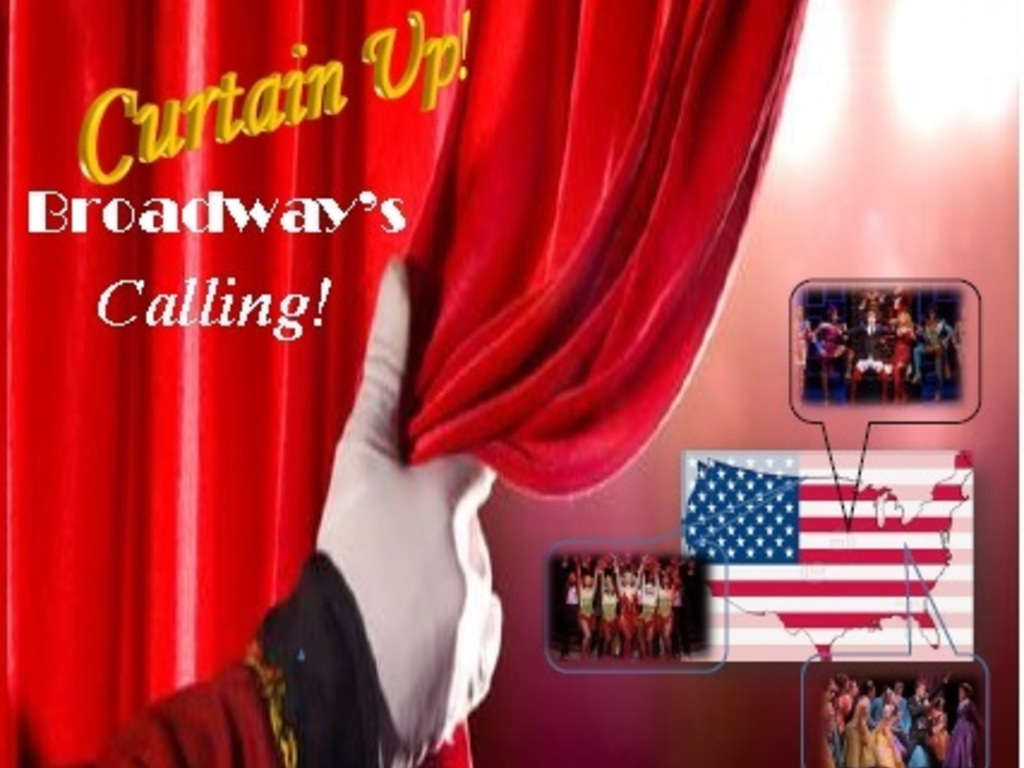 Curtain Up!  Broadway's Calling!'s video poster