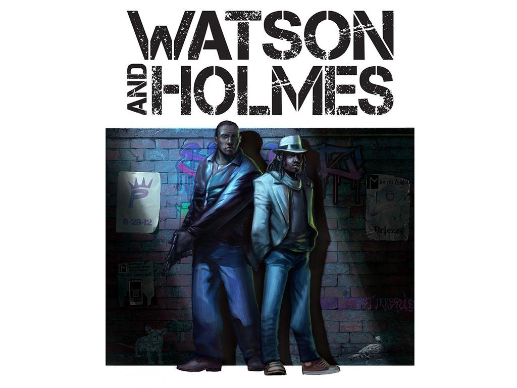 Watson And Holmes Print Kickstarter's video poster