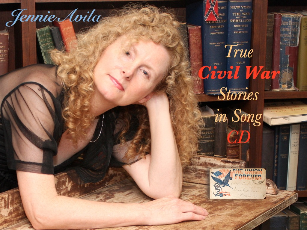 Jennie Avila's New CIVIL WAR CD ~ Voices of the Past's video poster