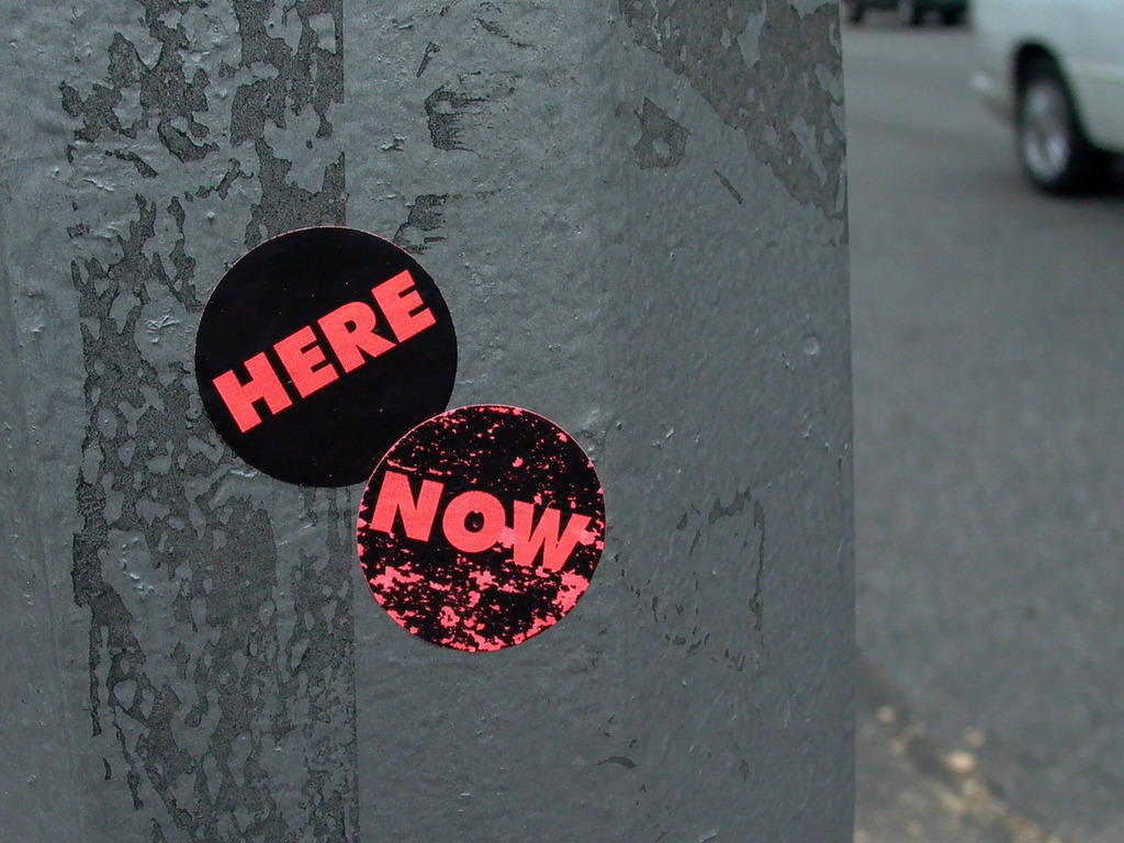 The Here & Now Project's video poster