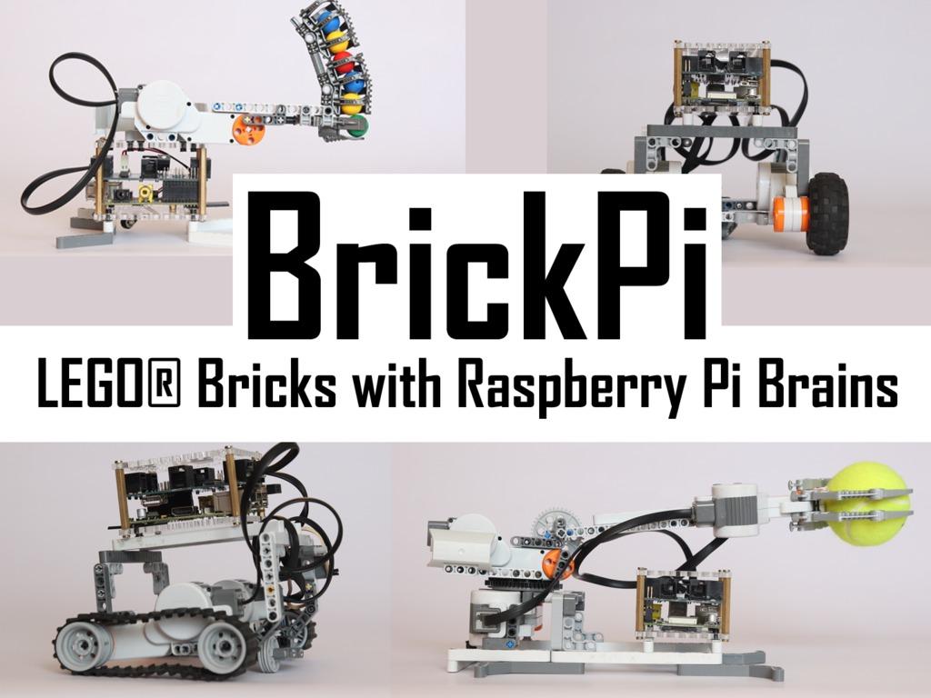 BrickPi: LEGO® Bricks with a Raspberry Pi Brain's video poster