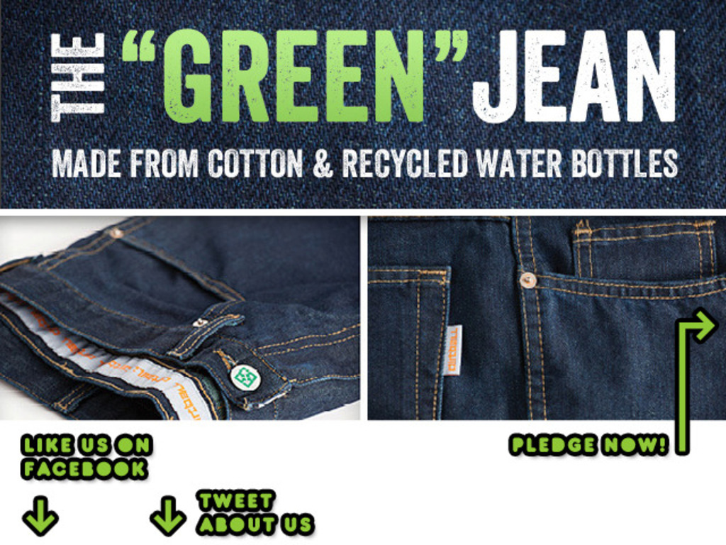 """""""THE GREEN JEAN"""" 100% MADE IN THE U.S.A., ECO-FRIENDLY DENIM's video poster"""