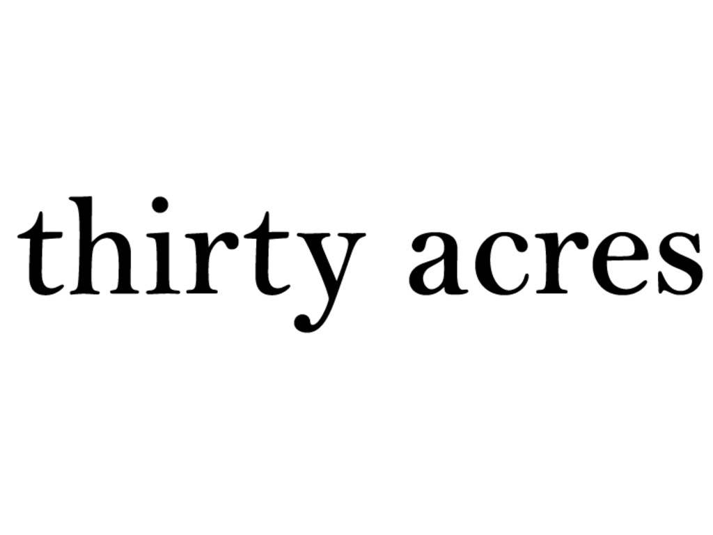 Thirty Acres: a Jersey restaurant's video poster