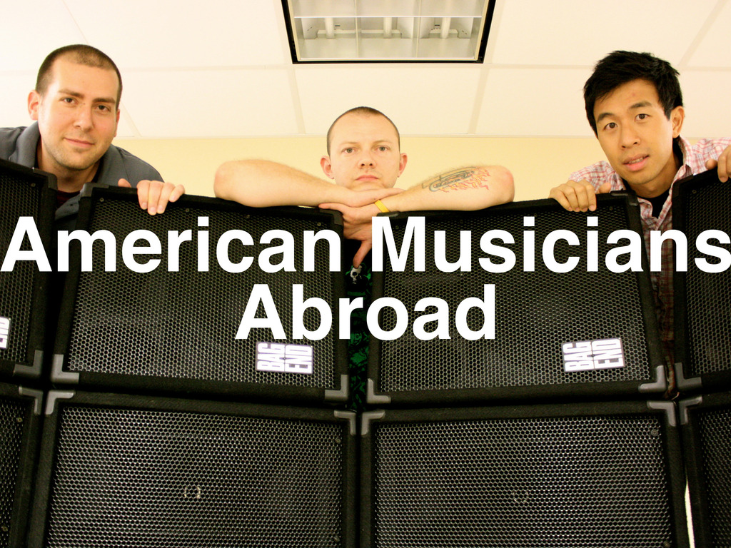 American Musicians Abroad's video poster