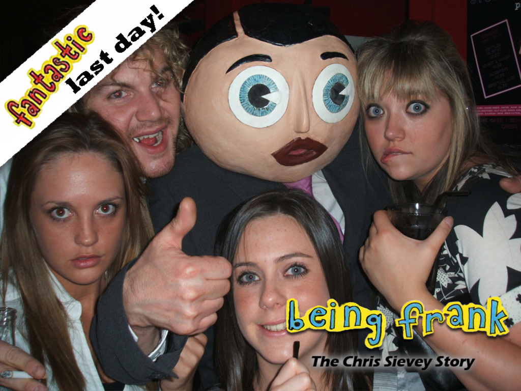 Being Frank: The Chris Sievey Story's video poster