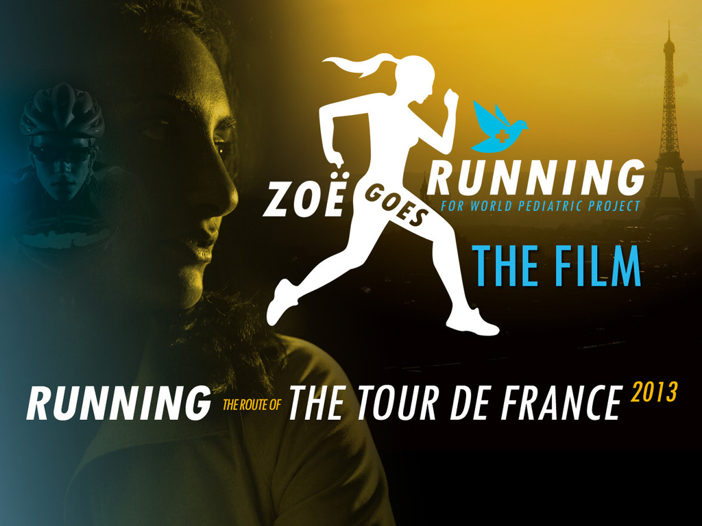 Zoe Goes Running - The Film: Running The Tour De France's video poster
