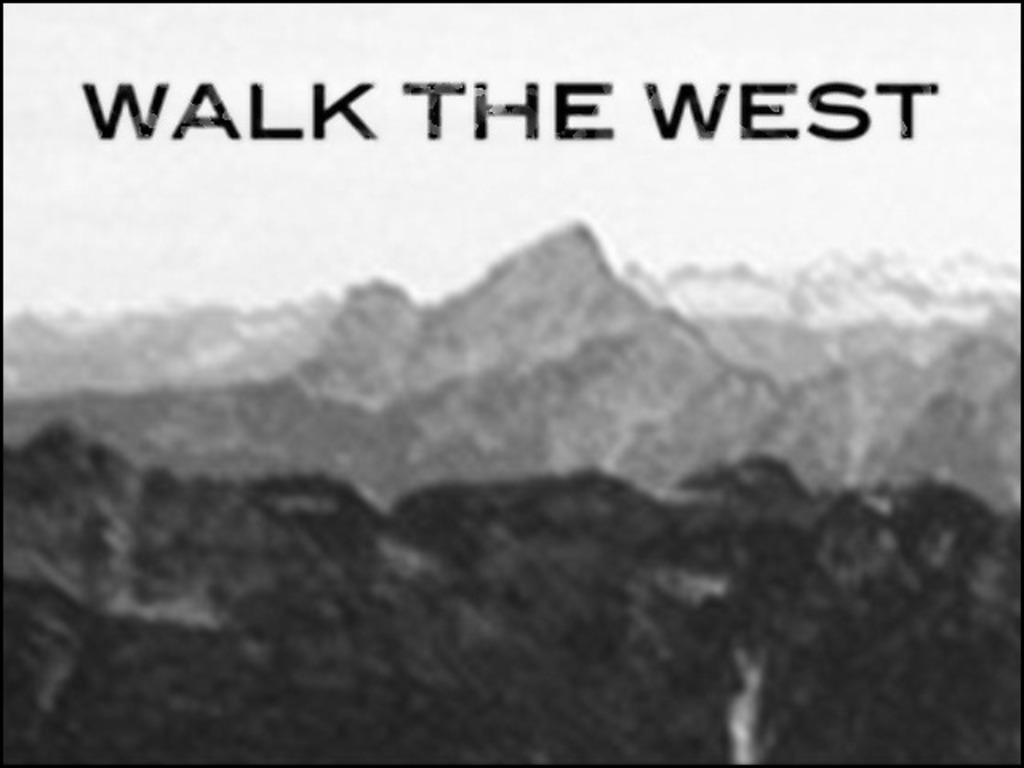 Walk the West's video poster
