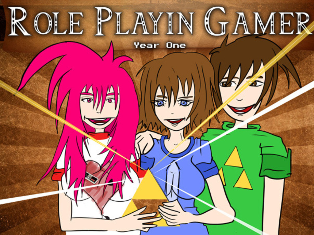 Role Playin Gamer Webcomic & Print & Role Play Book & Game's video poster