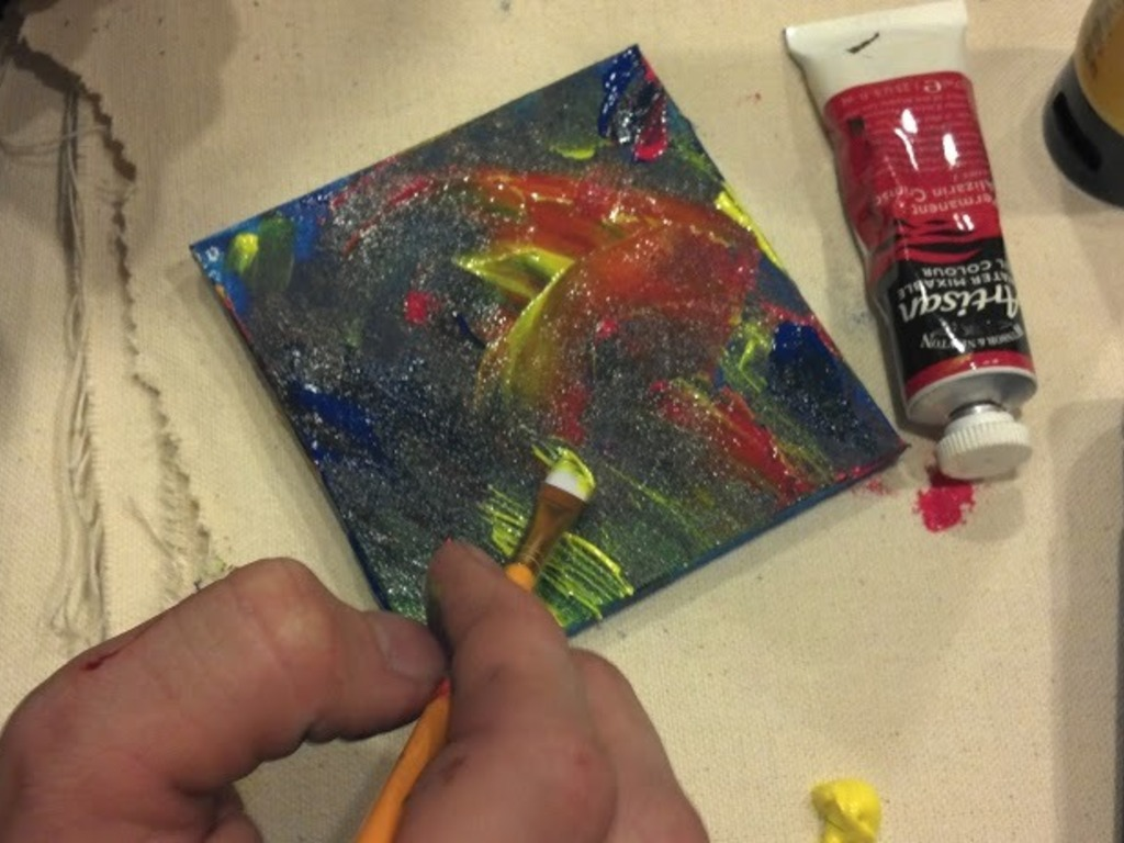 Painting with Glass's video poster