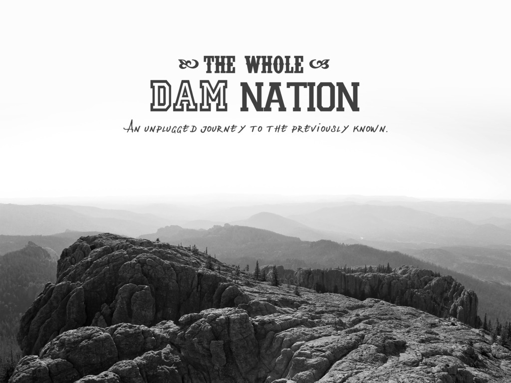 The Whole DAM Nation: A DIY Road Trip's video poster