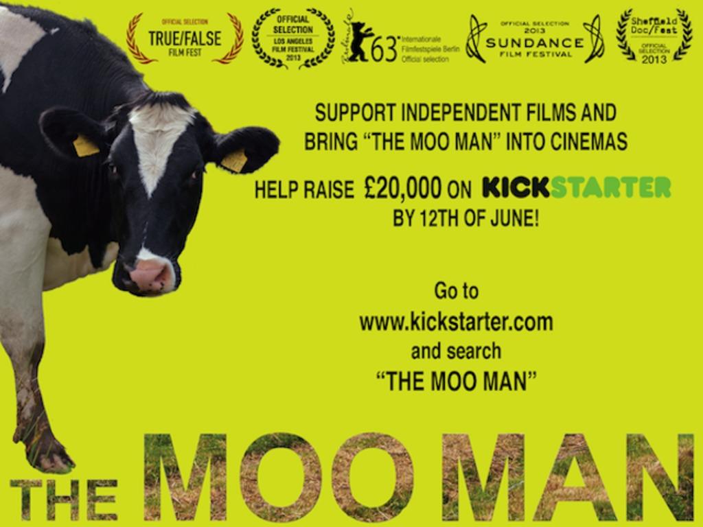 Bring THE MOO MAN to UK cinemas's video poster