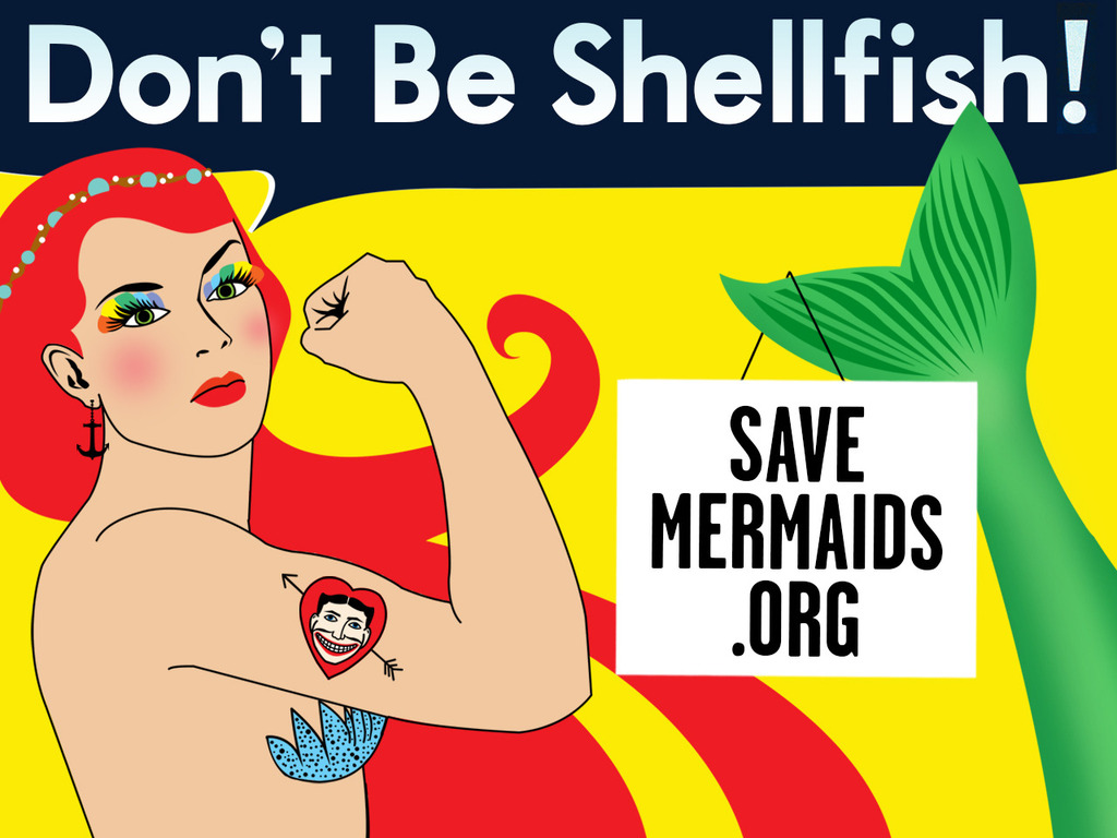 Save the Coney Island Mermaid from Extinction!'s video poster