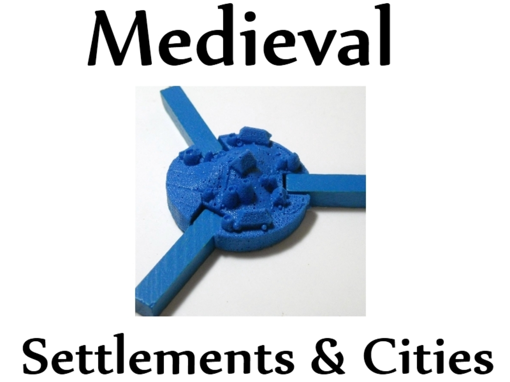 Medieval Settlement & City Game Pieces's video poster