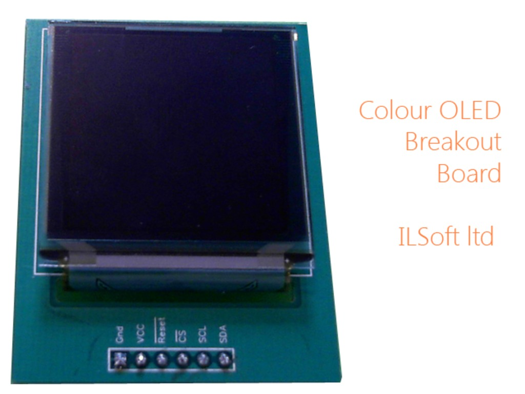 Colour OLED Breakout Board's video poster