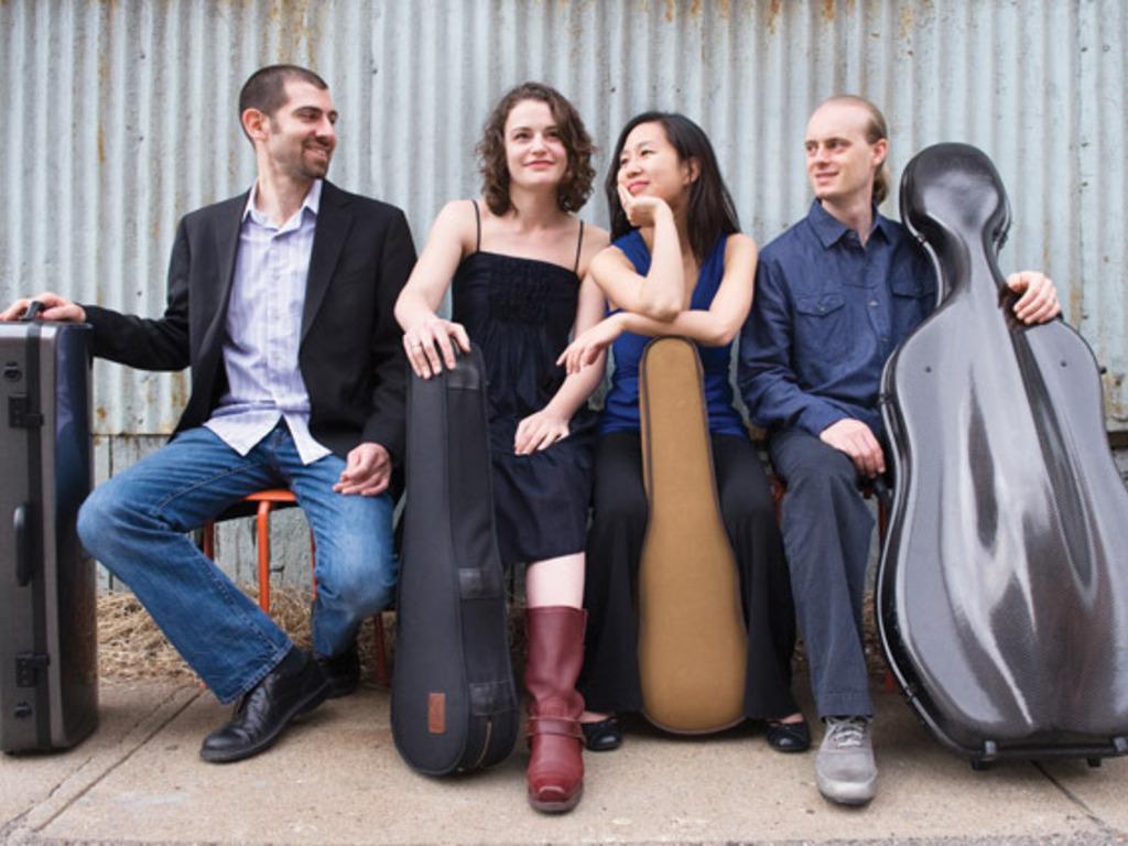 Chiara Quartet Records Complete String Quartets of Brahms's video poster