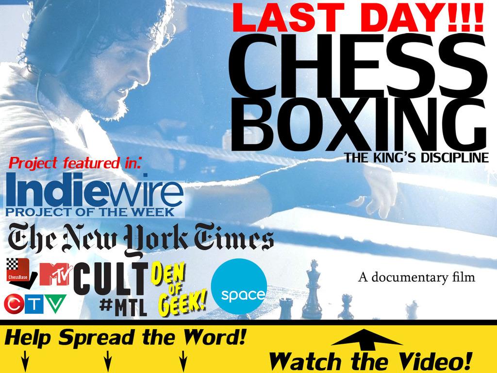 CHESSBOXING: The King's Discipline's video poster