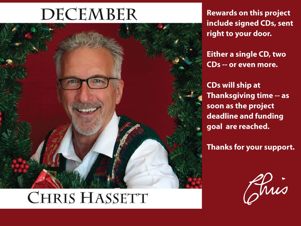 Chris's Holiday CD: December's video poster