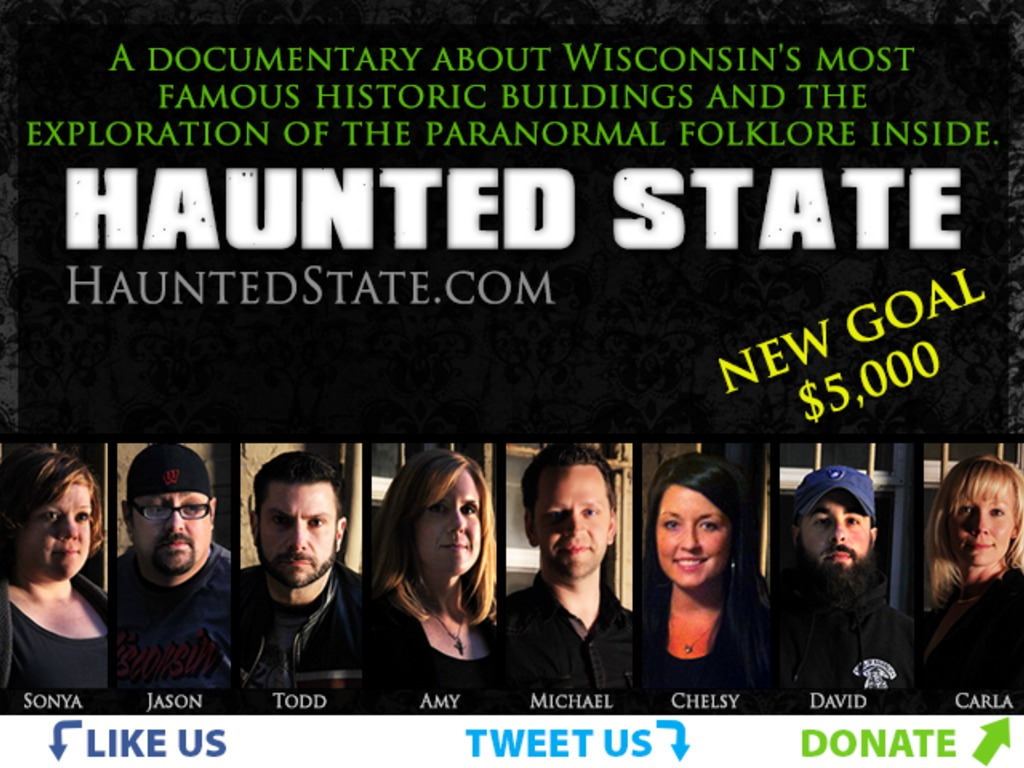 Haunted State's video poster