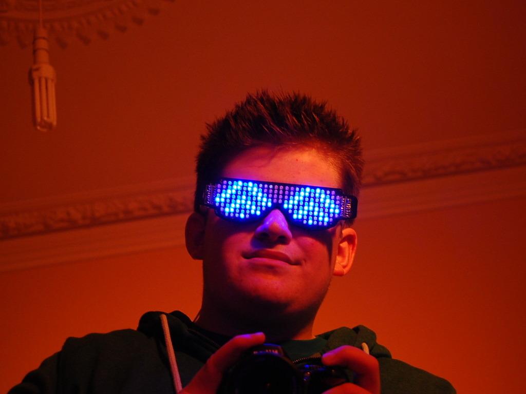 Rave Shades: The Self Assemble, LED Glasses Kit's video poster