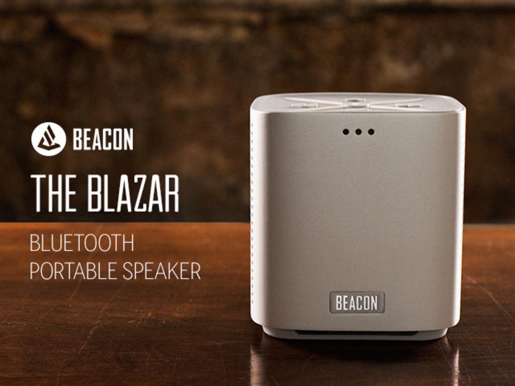 BLAZAR: Aluminum Bluetooth Speaker & Artist Collaboration's video poster