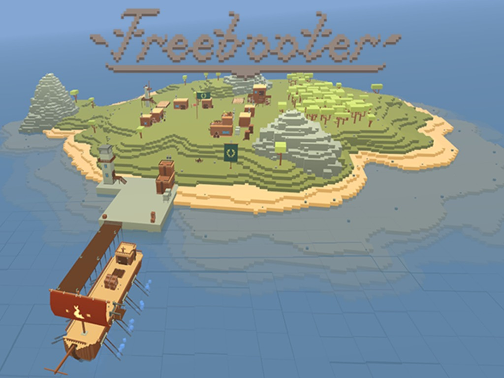 Freebooter - An Open-world Seafaring Game (Canceled)'s video poster