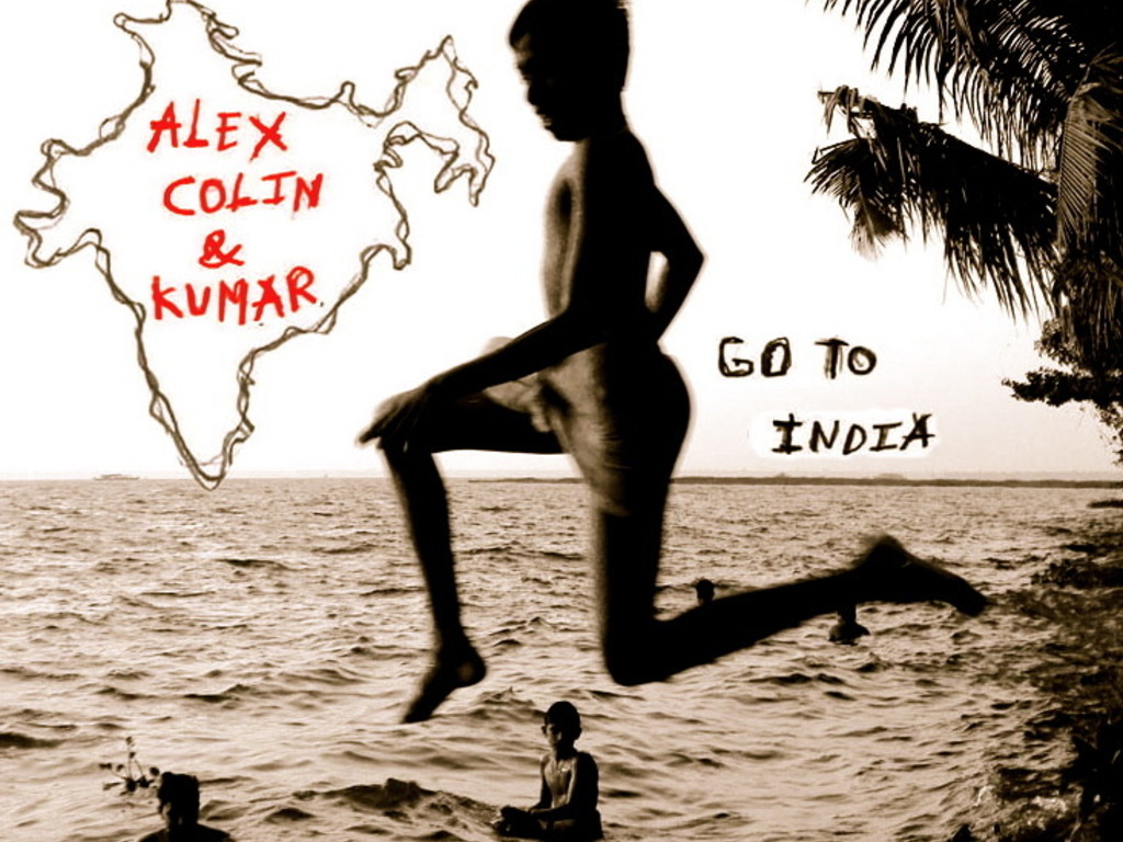 Alex, Colin and Kumar Go to India's video poster