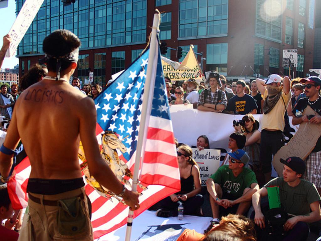 The Occupy Boston Globe's video poster
