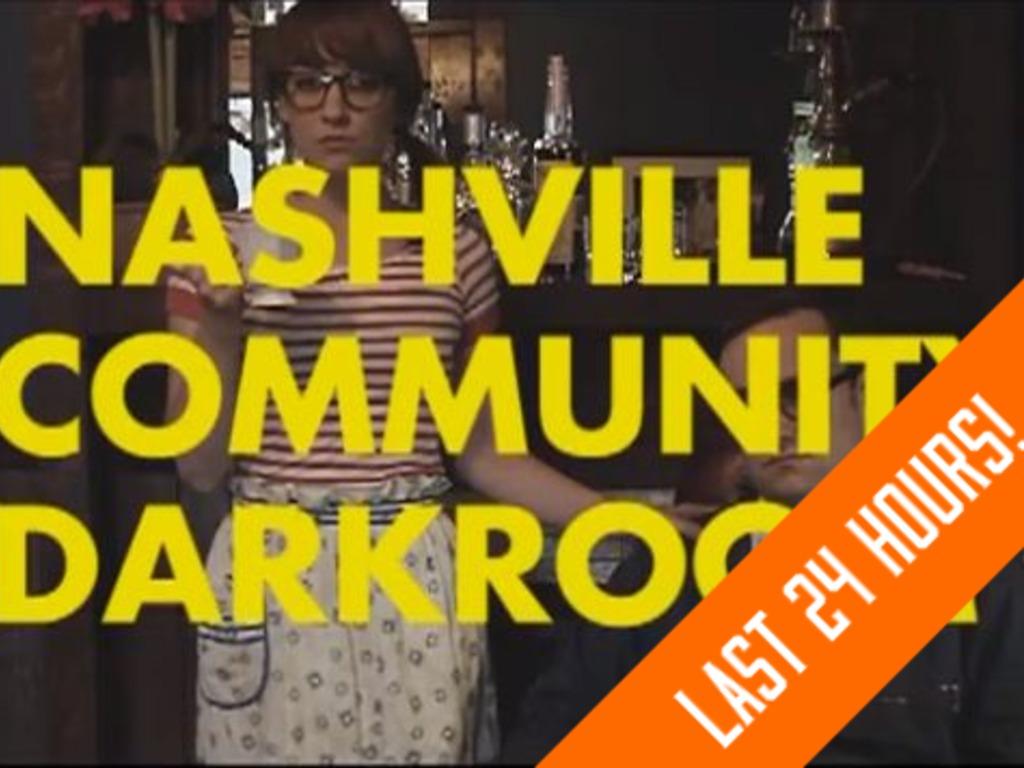 The Nashville Community Darkroom's video poster