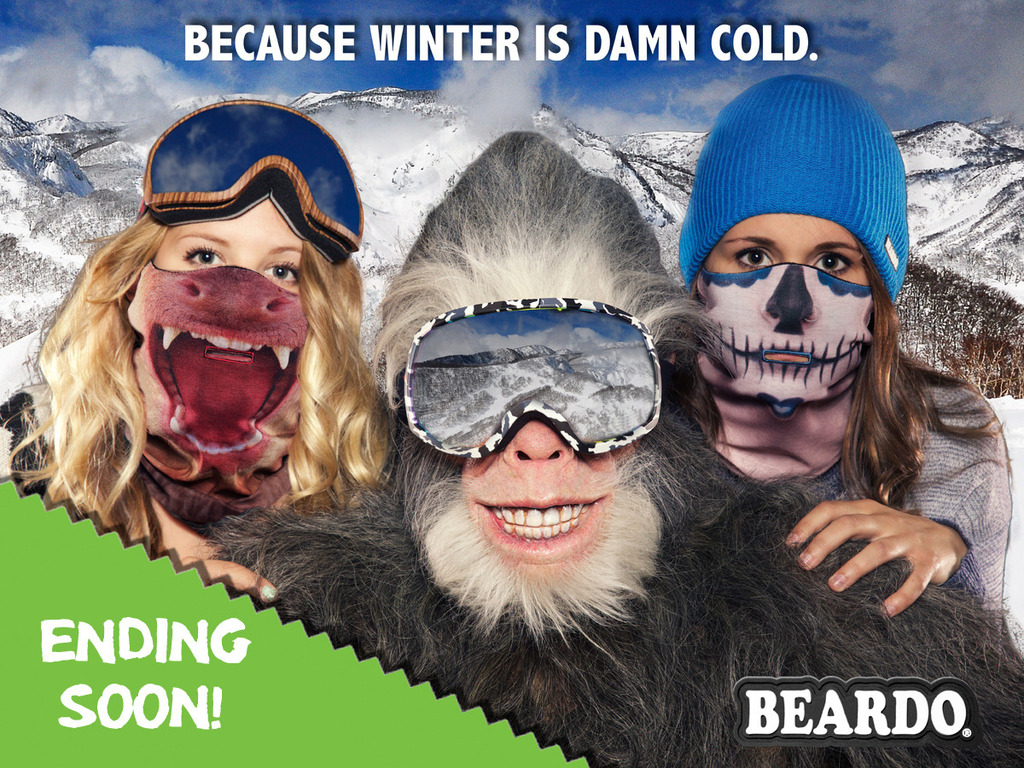 Winter is DAMN COLD ~ The Beardo® KEEP WARM Project's video poster