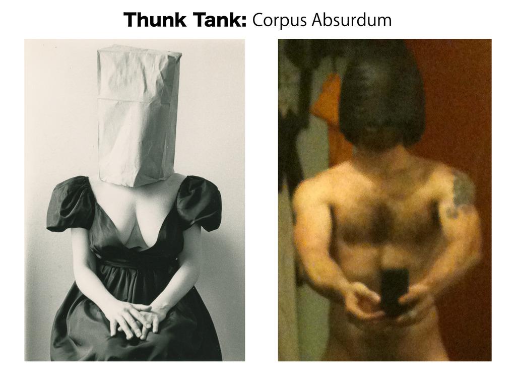 Thunk Tank: Corpus Absurdum Art Show's video poster