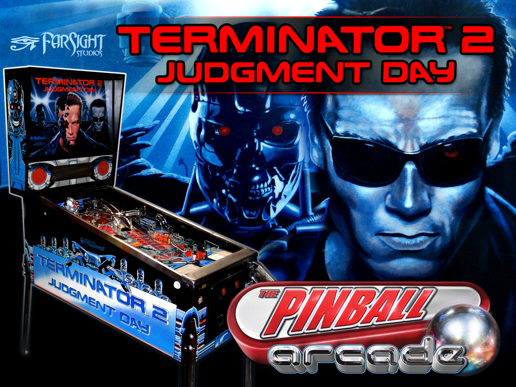Pinball Arcade: Terminator 2 Judgment Day's video poster