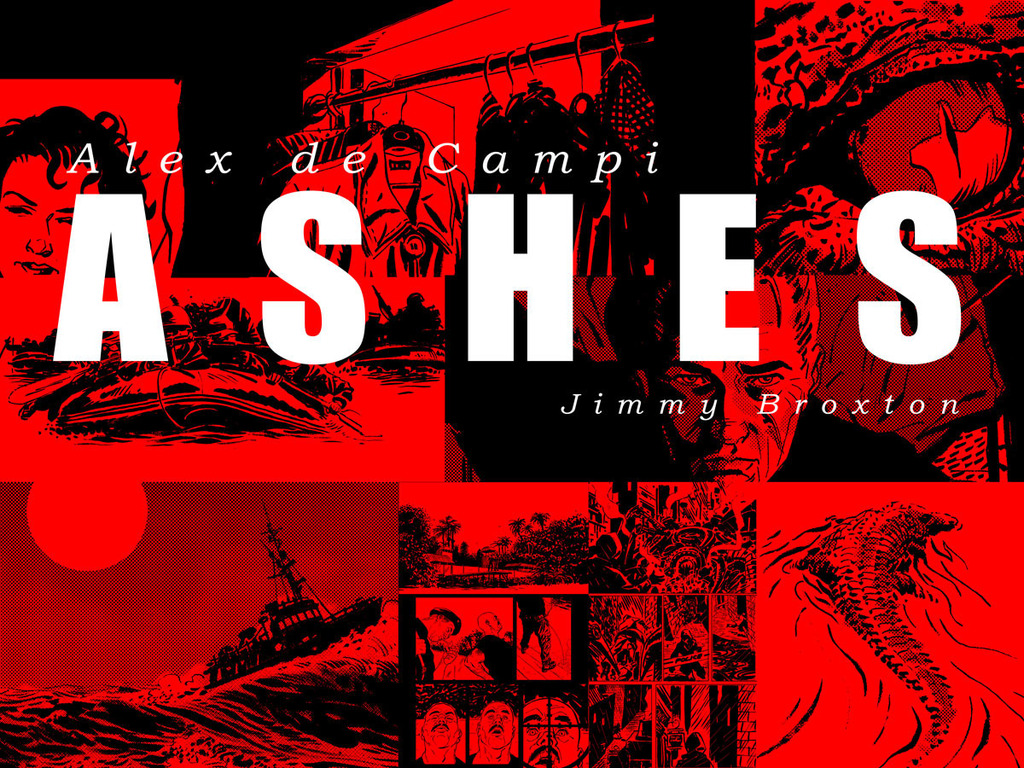 ASHES: A graphic novel by Alex de Campi & Jimmy Broxton's video poster