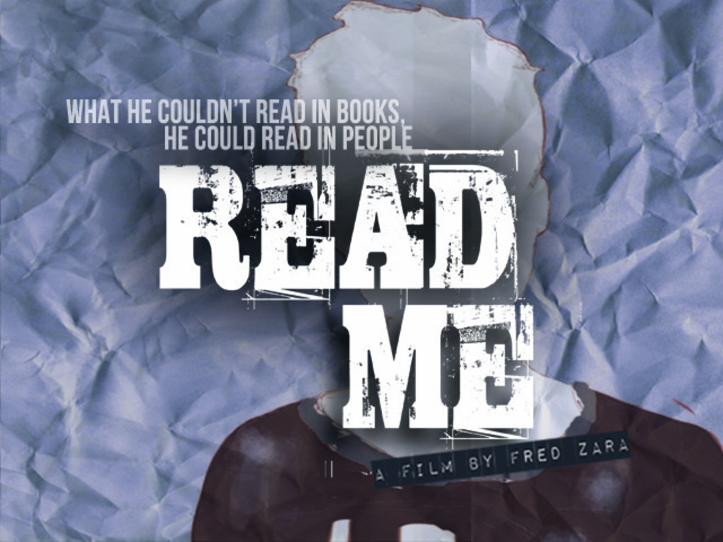 Read Me - a feature film's video poster