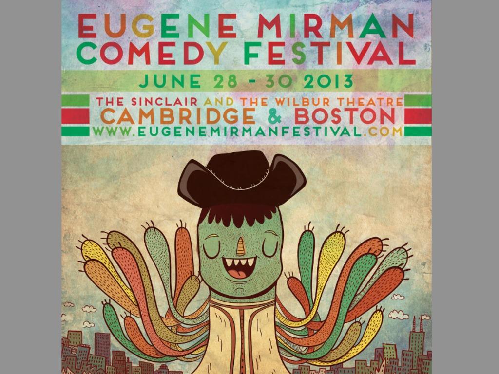 The Eugene Mirman Comedy Festival in Boston & Cambridge!'s video poster
