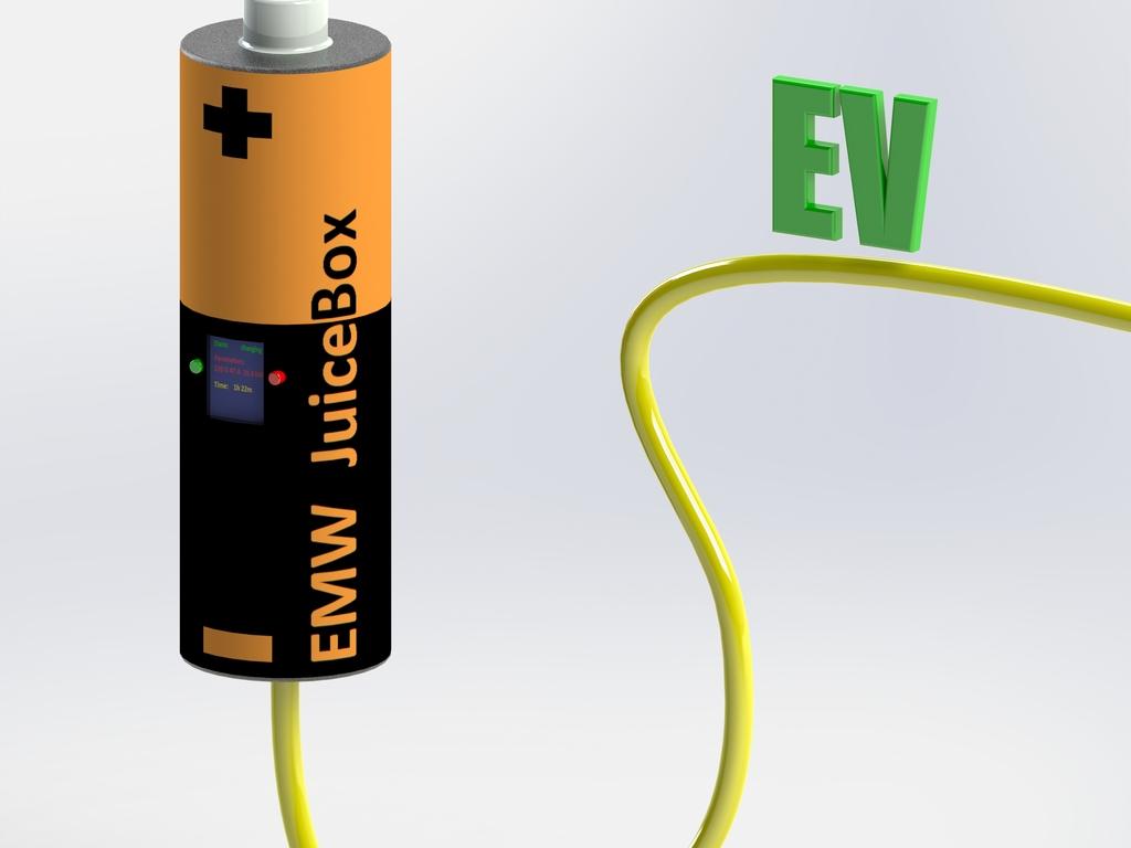 EMW JuiceBox - $99+ Level 2 (15kW) EV Charging Station's video poster