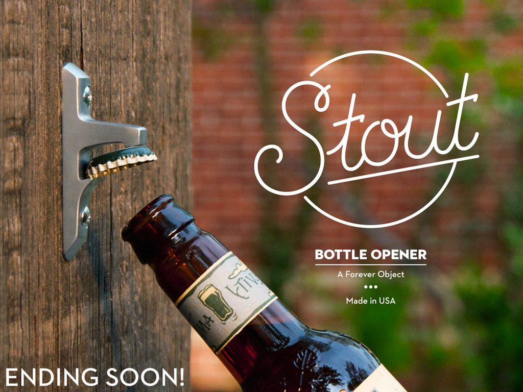 Stout Bottle Opener: A Forever Object's video poster