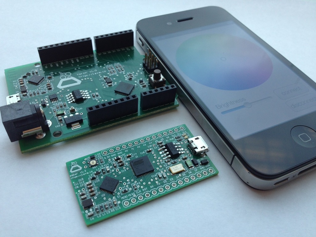 Ember & Torch: Apps Meet Arduino (w/ Bluetooth 4.0 LE)'s video poster