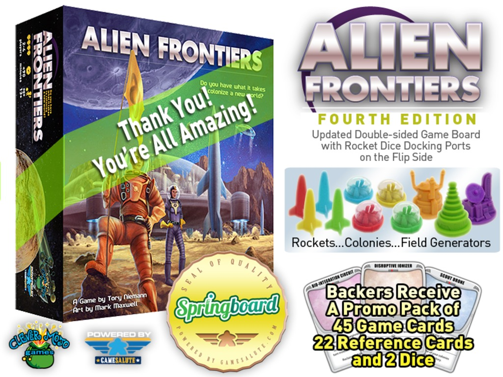 Alien Frontiers 4th Edition's video poster