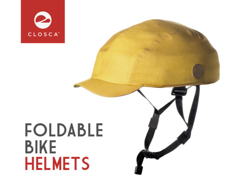 CLOSCA | Street style foldable bicycle helmet's video poster