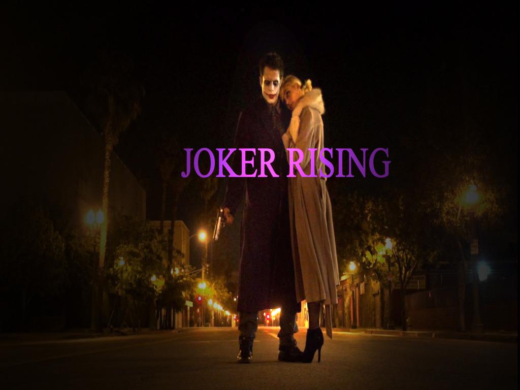 Joker Harley Quinn Origins DC Batman comic book Fan Film's video poster