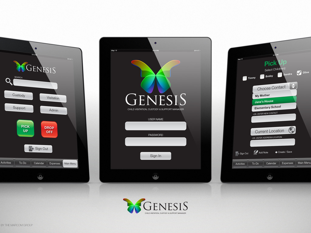 GENESIS - a Child Custody, Visitation and Support Manager's video poster