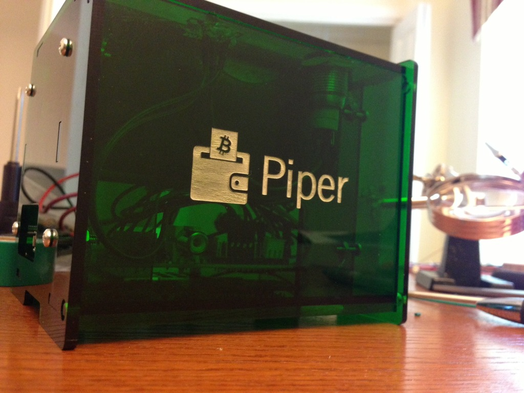 Piper: A hardware-based paper wallet printer and more's video poster